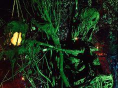 Stick Tunnel Skeleton - The Offering - Halloween 2015 - Gourdin Fester
