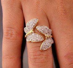 #Cute #butterfly #ring