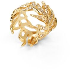 #BCBG Max Azria           #ring                     #PAVE #FEATHER #RING      PAVE FEATHER RING                                   http://www.seapai.com/product.aspx?PID=484946