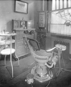 Dental Chair from 1920's