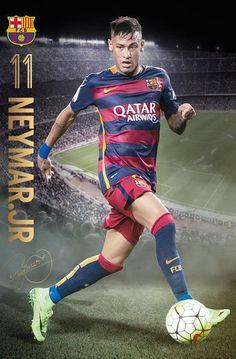 Barcelona - Neymar Action (24x36) - SPT13221