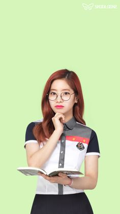 twice - dayhun Nayeon, Magenta, Cute Rappers, Warner Music, Jeon Somi, Twice Dahyun, Twice Kpop, Airport Style, School Uniform