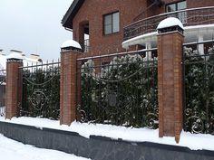 Портфолио | Metal made кованый забор с коваными колпаками на столбы http://www.metal-made.ru/portfolio/