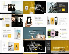 White Social Plan Slides PowerPoint templates on Behance Blue Company, Good Company, Powerpoint Design Templates, Keynote Template, Presentation Design, Presentation Templates, Company Introduction, Keynote Design, Professional Presentation