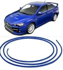 BLUE TRIM MOLDING STRIP GRILL INTERIOR EXTERIOR CAR STYLING DECORATION #030MIT