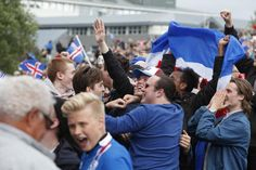 Icelanders go wild over victory over England  at Euro 2016