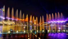 along Marina Bay Singapore
