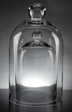 Tall Bodied Jar with Lid Clear 15-3//4-Inch