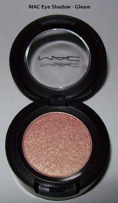MAC Gleam.  My daily go to.  Gleam all over the lids, and Traxx in the crease.  Can't go wrong.
