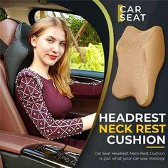 Cool Gadgets To Buy, Car Gadgets, Car Seat Headrest, Neck Pain Relief, Pt Cruiser, Car Hacks, Neck Pillow, Lumbar Pillow, Cushion Pillow