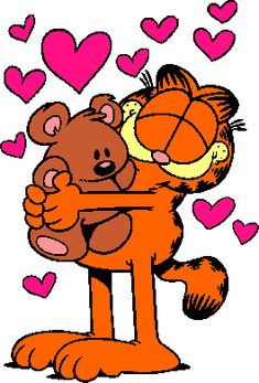 You will never love anything as much as Garfield loves his Pooky!