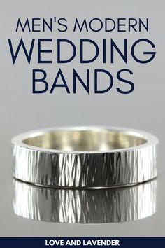 There are tons of wedding bands for men to choose from, but which stands out the most? We've created a list of the best modern wedding bands for men from diamonds, gold, rose gold, tungsten, white gold, or black titanium. See it here! #weddingbands #mensweddingbands #weddingbandsformen Bridal Jewelry Sets, Wedding Jewelry, Wedding Men, Wedding Bands, Stylish Rings, Classic Gold, Glitz And Glam, Diamonds, White Gold
