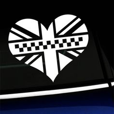 This Black Jack heart looks great in the corner of your MINI Coopers window! Available Colors: White, Silver, Gray, Black, Matte Black, Yellow, Golden Yellow, Metallic Gold, Copper, Orange, Pink, Soft Pink, Red, Burgundy, Yellow Green, Green, Dark Green, Turquoise, Ice Blue, Light Blue, Azure Blue, Mini Cooper Hardtop, Purple, Orange Pink, Green Turquoise, Jack Black, Golden Yellow, Simple Shapes, Matte Black, Primary Colors