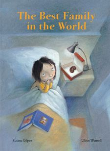 """A MUST read for adoptive families, especially of older children. """"Carlotta anxiously awaits the arrival of her new family. What will they be like? She imagines all kinds of wonderful families;astronauts, pastry chefs, even pirates. How nice to find out that they are the best family in the world""""."""