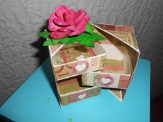 caja sorpresa Creativity, Gift Wrapping, Scrapbook, Gifts, Crates, Gift Wrapping Paper, Presents, Wrapping Gifts, Scrapbooks