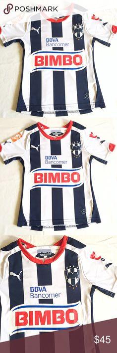 cfacb333acb NWOT Kids Puma Rayados Soccer Jersey Sz Youth XS NWOT Kids Puma Rayados Soccer  Jersey Sz