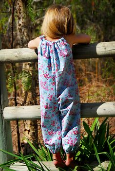 "Summer Romper - PDF Pattern by ""Sew Sweet Patterns"" (12/18mnths - 6yrs) $6"