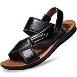#4: CUSTOME Hombres Playa Zapatos Sandalias de Ocio Zapatilla de Cuero --          http://ift.tt/2s44rjV          #zapato #zapatos #zapatosdemoda