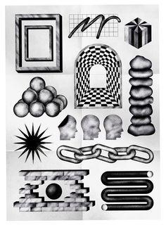 WILL HARVEY Freelance Graphic Design, Graphic Design Posters, Graphic Design Illustration, Illustration Art, Arte Sketchbook, Futuristic Art, Collage, You Draw, Retro Futurism