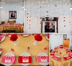 Love is in the Air #parties #hearts