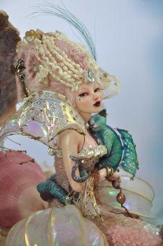 Rococo 16th Century mermaid by SutherlandArt on DeviantArt