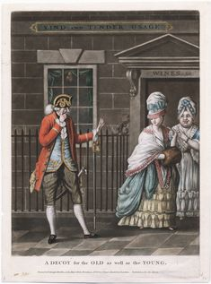Decoy for the Old as well as the Young, 1773 mezzotint, Lewis Walpole Library