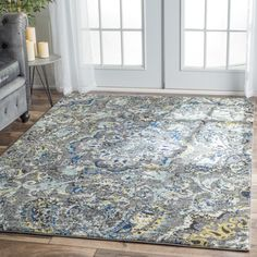 nuLOOM Modern Vintage Paisley Multi Rug (9' x 12') | Overstock.com Shopping - The Best Deals on 7x9 - 10x14 Rugs