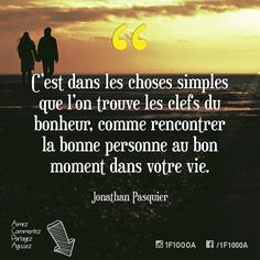 Les Sentiments, Sentences, Love Story, Passion, Simple, Instagram, Good Person, So True, Thinking About You