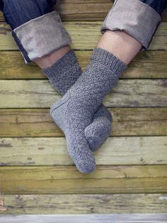 Strukturmönstrade strumpor Novita 7 Bröder | Novita knits