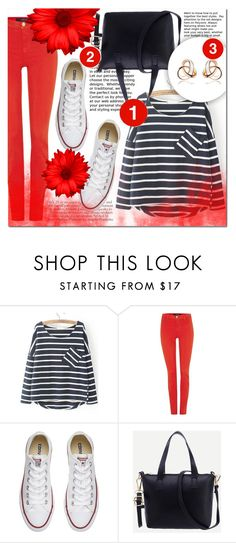 """""""SHEIN 5"""" by mini-kitty ❤ liked on Polyvore featuring J Brand, Converse and shein"""