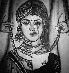 3d Art Drawing, Girl Drawing Sketches, Girly Drawings, Dark Art Drawings, Mandala Drawing, Art Drawings Sketches Simple, Pencil Art Drawings, Beautiful Pencil Sketches, Art Drawings Beautiful