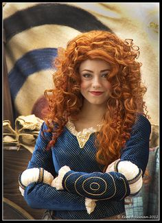 Merida, this is the job I want to have when I grow up!!!