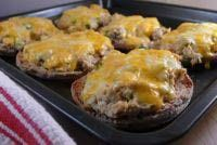 Canned salmon stands in for tuna in these easy melts.