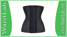 Lover-Beauty Women's Latex Underbust Corset Waist Training Cincher 9 Steel Boned Review ~ WaistLab