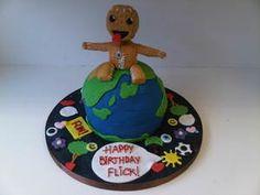 SackBoy from Little Big Planet cake!