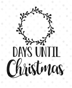 Excited to share this item from my shop: Days Until Christmas SVG, Instant. - Before After DIY Cricut Christmas Ideas, Christmas Wood, Christmas Projects, Christmas Decorations, Christmas Decals, Christmas Vinyl Crafts, Christmas Gift Ideas, Christmas Design, Country Christmas