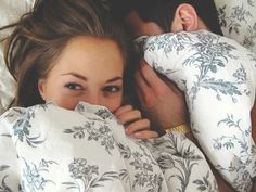 Waking up next to each other is the best.