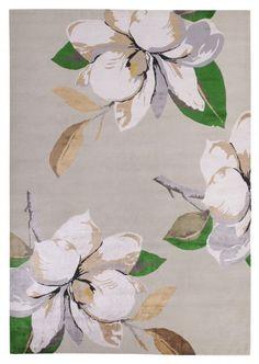 Magnolia Ice Wool & Silk por Vivienne Westwood para The Rug Company