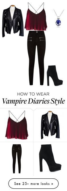 """""""Katherine Roupa 1 dia de aula"""" by anabeatrizsantos-1209 on Polyvore featuring Alexander McQueen, Paige Denim, Casadei and Natural Blue"""