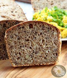 Kulinarne Szaleństwa Margarytki: Chleb graham na zakwasie żytnim razowym Bread Bun, Rolls Recipe, Bread Recipes, Banana Bread, Graham, Deserts, Cooking, Food Food, Fit