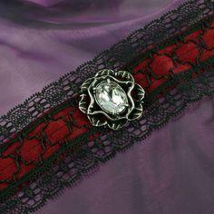 Victorian Goth Ravania Choker