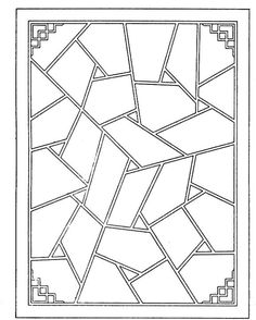 Free Geometric Coloring Pages | coloring pages printable coupons work at home free coloring pages ...