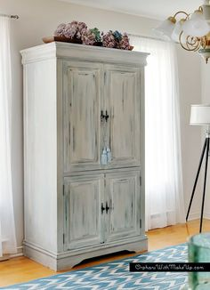 Upcycled+Media+Cabinet+Into+Armoire