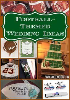 Full set of wedding footballjerseys for a football themed wedding football themed wedding ideas junglespirit Choice Image