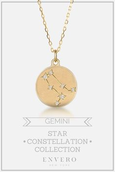 Gemini Constellation Necklace – Envero Jewelry