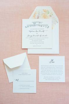new york wedding stationery charlotte stationeries icebox cake letterhead design