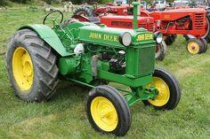 Old John Deere Tractor.