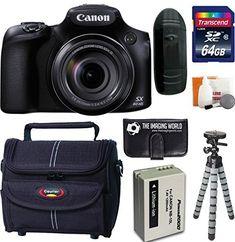 Canon PowerShot SX60 HS 16.1 MP Wi-Fi 65x Optical Zoom Digital Camera + 64GB Card and Reader + Battery + Tripod + Bag + Digital Camera Accessories Kit http://cameras.henryhstevens.com/shop/canon-powershot-sx60-hs-16-1-mp-wi-fi-65x-optical-zoom-digital-camera-64gb-card-and-reader-battery-tripod-bag-digital-camera-accessories-kit/ https://images-na.ssl-images-amazon.com/images/I/51E4Pb3YOrL.jpg