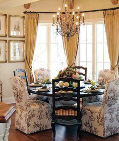interior design of breakfast room