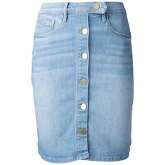 Frame Denim Denim Pencil Skirt